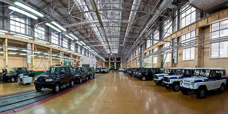 автомобили УАЗ 4