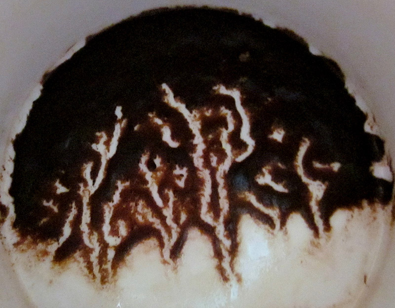 Толкование узоров на кофейной гуще
