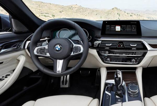 Новая BMW 5 Series 2018 года