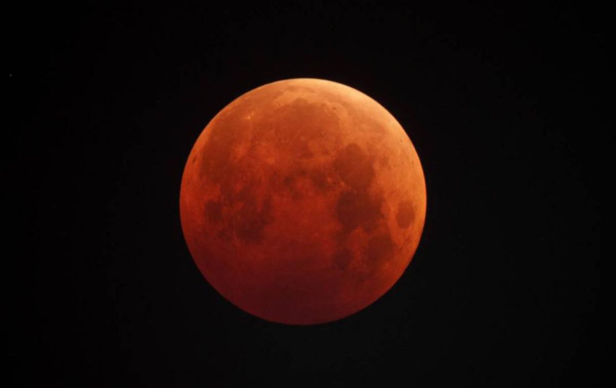 Лунное затмение в 2019 году. Когда будет по московскому времени