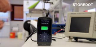 Нанотехнологии зарядят ваш телефон за 30 секунд