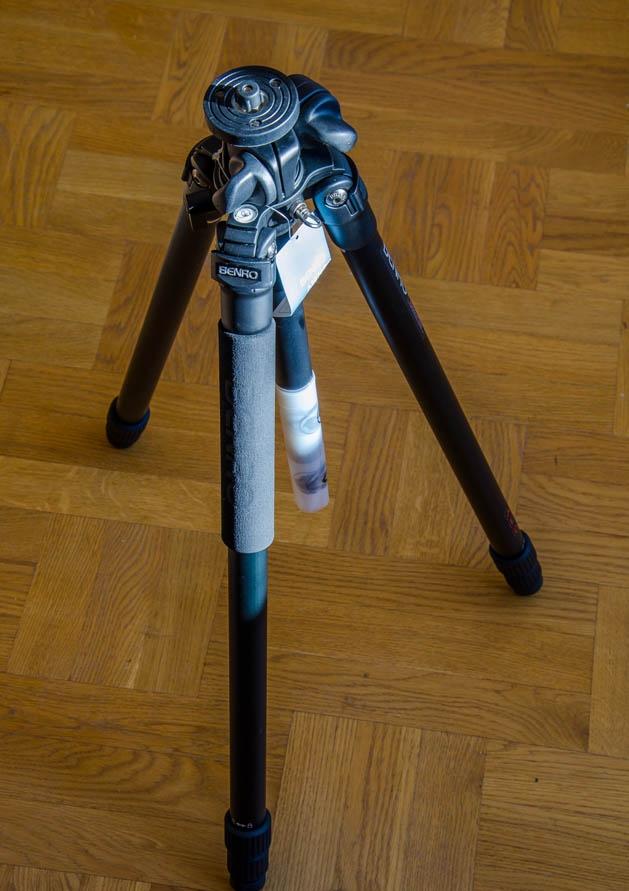 Обзор фото штатива Benro A2970T - с одним коленом