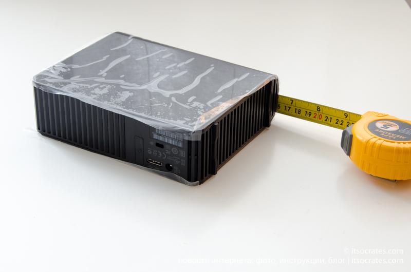 Обзор жестких дисков - WD Elements 4Tb - размеры диска